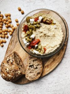 hummus-toppings